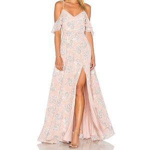 Lovers + Friends Taylor Gown in Floral NWT
